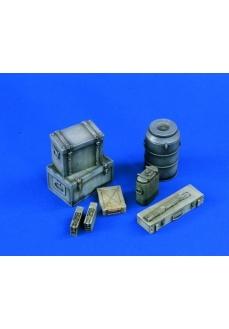 Cutii munitie si echipament germane, 120mm