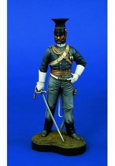 Lancier divizia 17 cavalerie, Crimea, 120mm