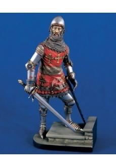 Figurina CONTELE de WARWICK cca. 1400, 120mm