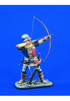 Figurina arcas medieval englez, 120mm