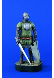 Figurina cavaler german cca. 1350, 120mm
