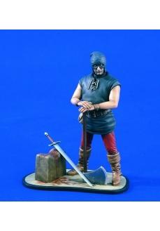Figurina calau medieval, 120mm