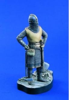 Figurina capetenie anglicana, sec. VII, 120mm