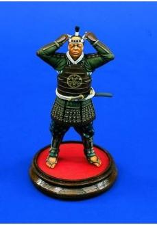 Figurina samurai, cca. 1600, 120mm
