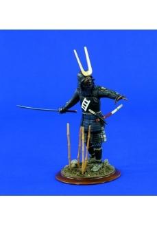 Figurina capetenie samurai, 120mm