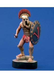 Figurina razboinic spartan, 120mm