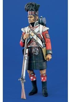 Figurina soldat regimentul 79 CAMERON HIGHLANDER , 120mm