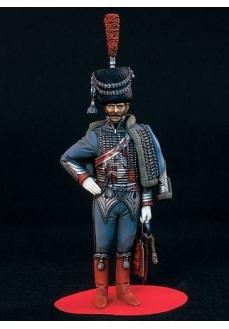 Figurina capitan regimentul III husari, 120mm