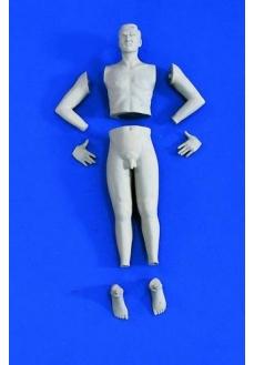 Figurina barbat pt transformari, Academy, 120mm