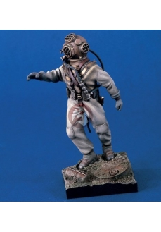 Figurina scafandru salvare WWII, 120mm