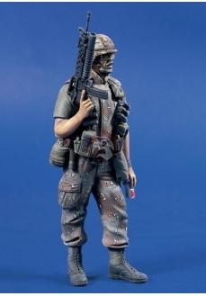 Figurina infanterist SUA,  120mm
