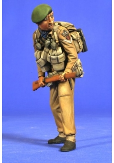 Figurina soldat comando britanic, 120mm