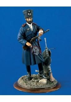 Figurina cavalerist cazac in serviciu german, 120mm