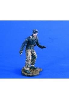 Figurina ofiter de tancuri, 120mm
