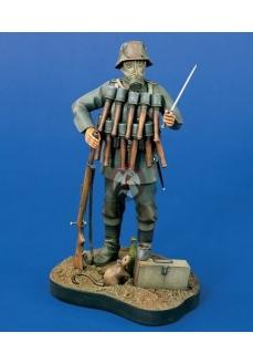 Figurina soldat  german, 120mm