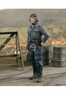 Figurina pilot german, scara 1:24