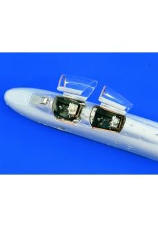 Upgrade cabina kit Trumpeter 1:32 A-10 Thunderbolt  , scara 1:32