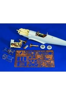 Set upgrade kit HASEGAWA 1:32 Messerschmitt Bf 109, scara 1:32