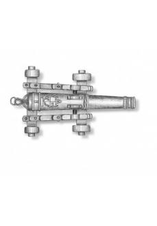 4160/15 Set 10 tunuri decorate cu afet metalic pentru navomodele, Amati