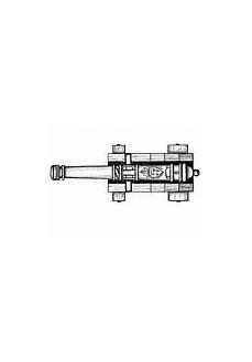 4159/30 Set 10 tunuri cu afet din lemn pentru navomodelism, Amati