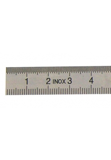 Rigla flexibila din INOX, 300mm