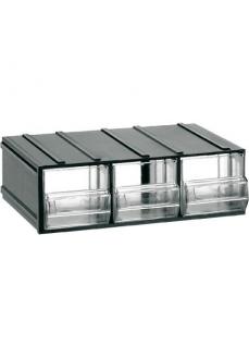 411 Cutii cu sertare transparente 192x148x63mm