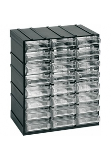 501 Modul cutii /sertare transparente 192x148x233mm