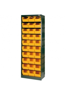 1104/190 Dulap 30 cutii depozitare, 659x391x1900mm