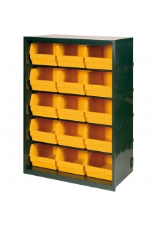 1104/95 Dulap 15 cutii depozitare, 675x205x950mm