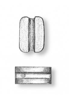 4070/02 Set de 50 buc scripeti simpli navomodelism, 2mm, Amati