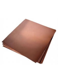 HOB C 005 Foaie de tabla de cupru pentru modelism 0,5 x 500x 500