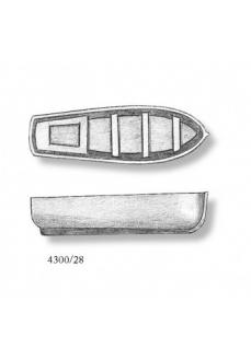 4300/28 Barca din plastic pentru navomodele, 28mm, Amati