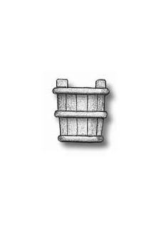 4145/09 Set 5 galeti din lemn pentru navomodele. Amati