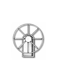 4350/50 Set timona navomodel cu suport, 50mm, Amati