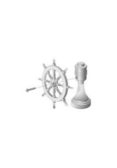 4350/31 Set timona navomodel cu suport, Amati