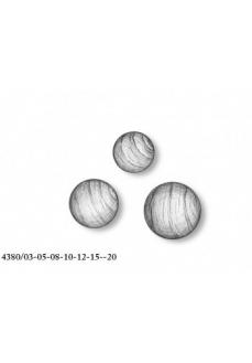 4380/03 Set 30 bile din lemn fara gaura pentru navomodelism, Amati