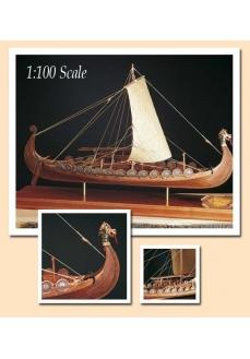 1006/01 Planuri contructie navomodel Amati Drakkar Viking