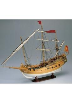 1007 Planuri contructie navomodel Amati Polacca Venetiana
