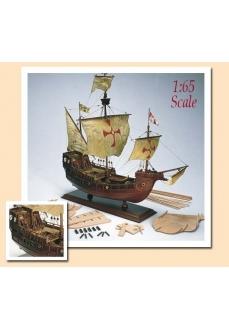 1009 Planuri contructie navomodel Amati Santa Maria, 1492