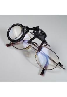 Lupa fixare pe ochelari, marire 5X, pt navomodelism